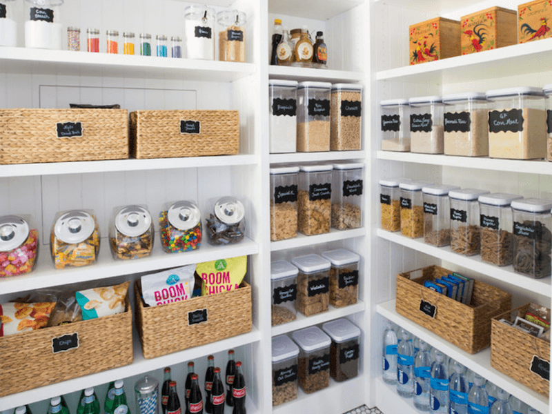 pantry baskets - use your food