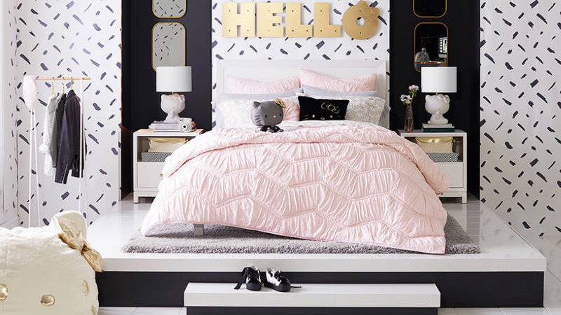 Pottery Barn Says Hello to Hello Kitty with a Stylish New Line for Teens at Heart