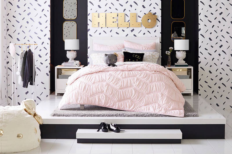 Pottery Barn Says Hello To Hello Kitty With A Stylish New Line For