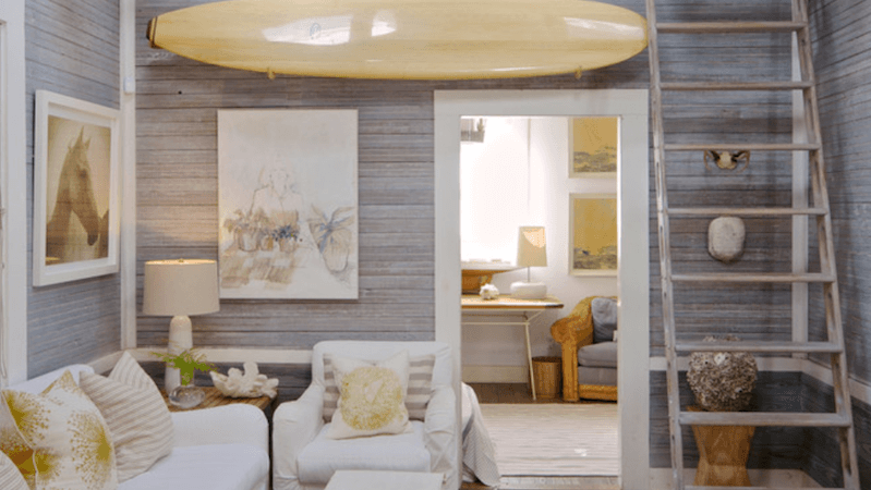 How To: Incorporate Surfboards in Home Decor