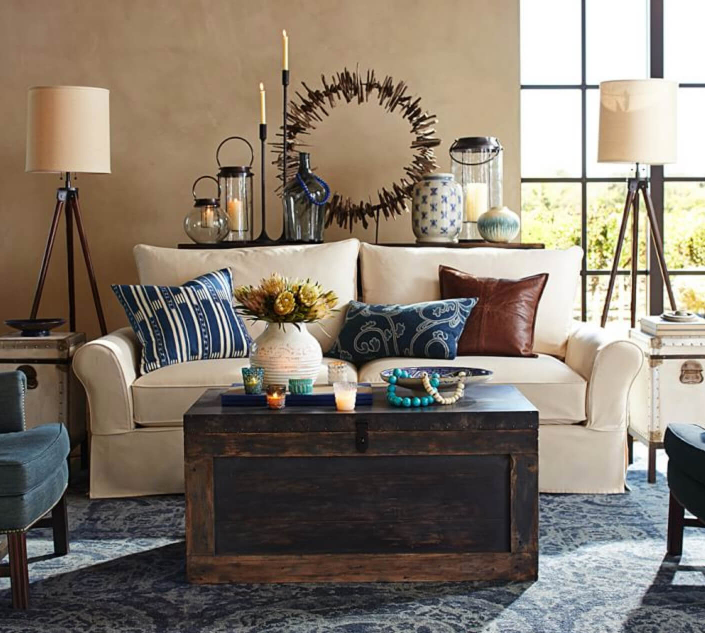 Pottery Barn Blue Living Room: 12 Living Room Rug Ideas That Will Change Everything