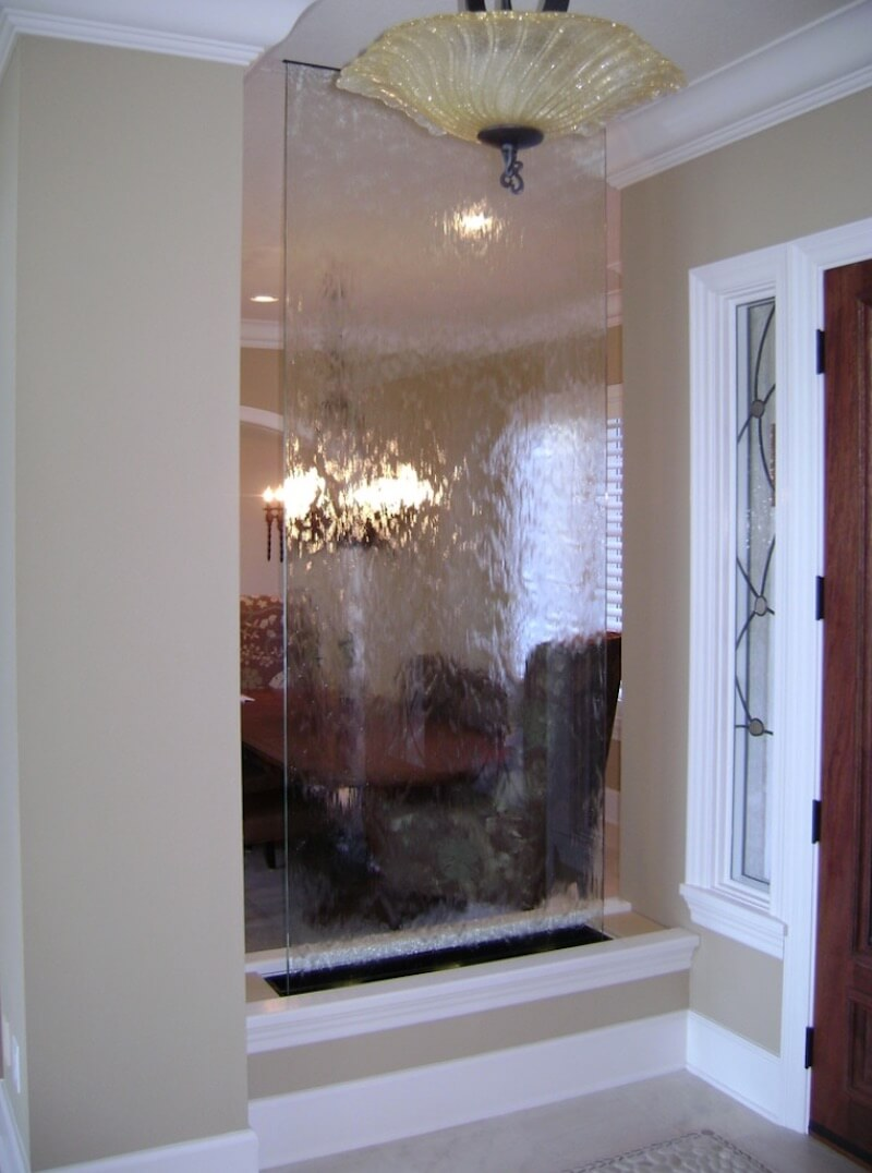 Indoor Water Feature Room Divider Style