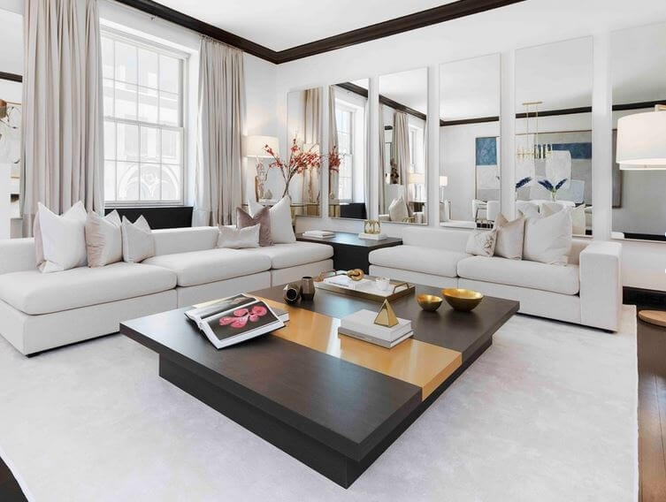 New York, NY. Collect This Idea. This Upscale Park Avenue Living Room Is  Urban And Sophisticated. Image: Interior Marketing Group