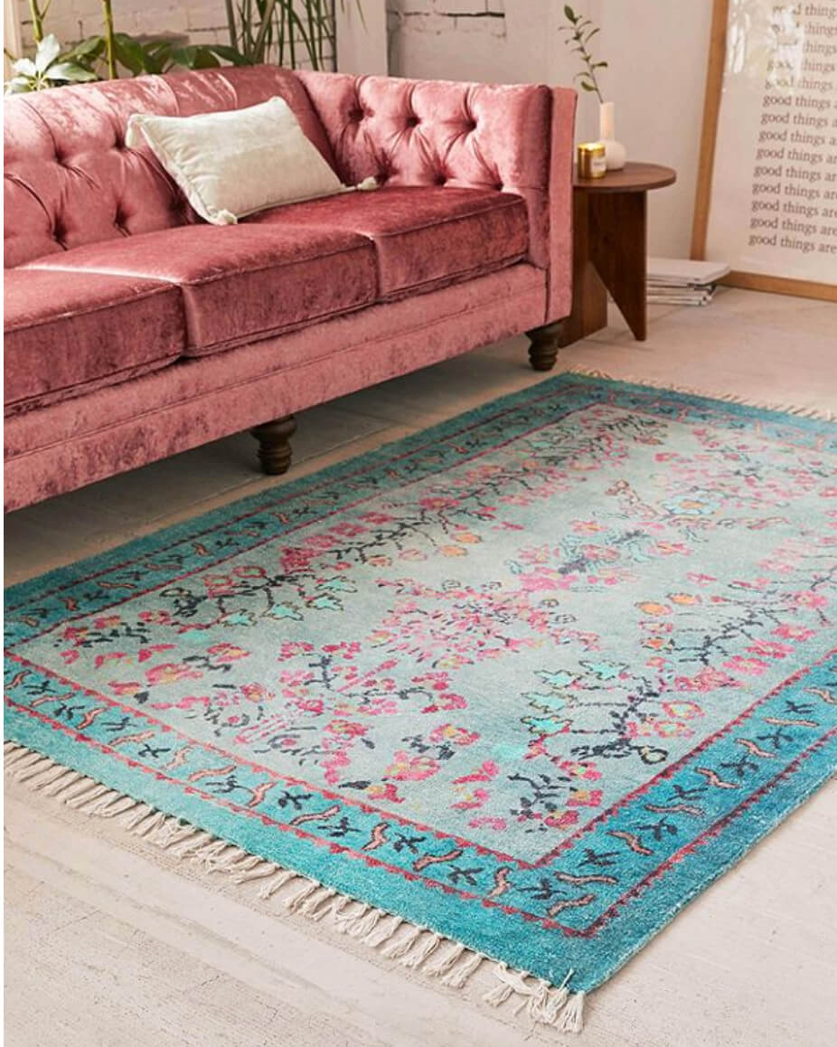 terrific colorful living room rug | 12 Living Room Rug Ideas That Will Change Everything