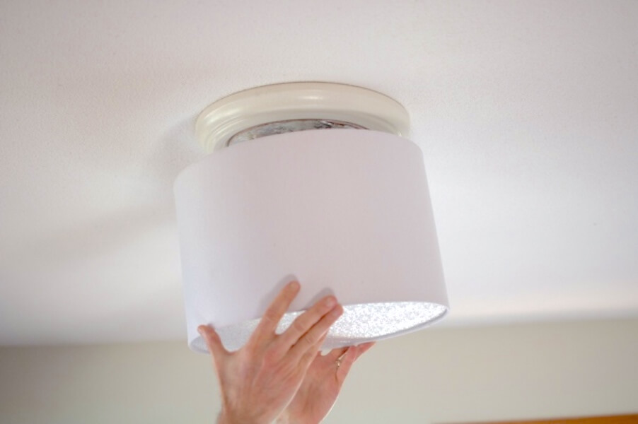improve your apartment - ceiling lighting