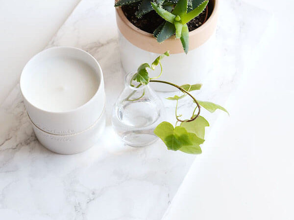 DIY: 6 Chic Ways to Use Marble Contact Paper
