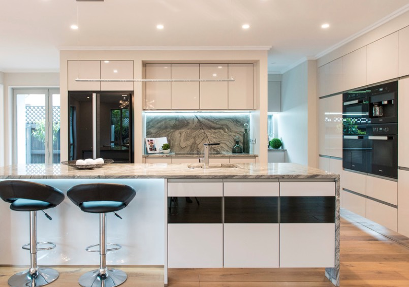 Trend Alert Glass Door Refrigerators Are The New Stainless