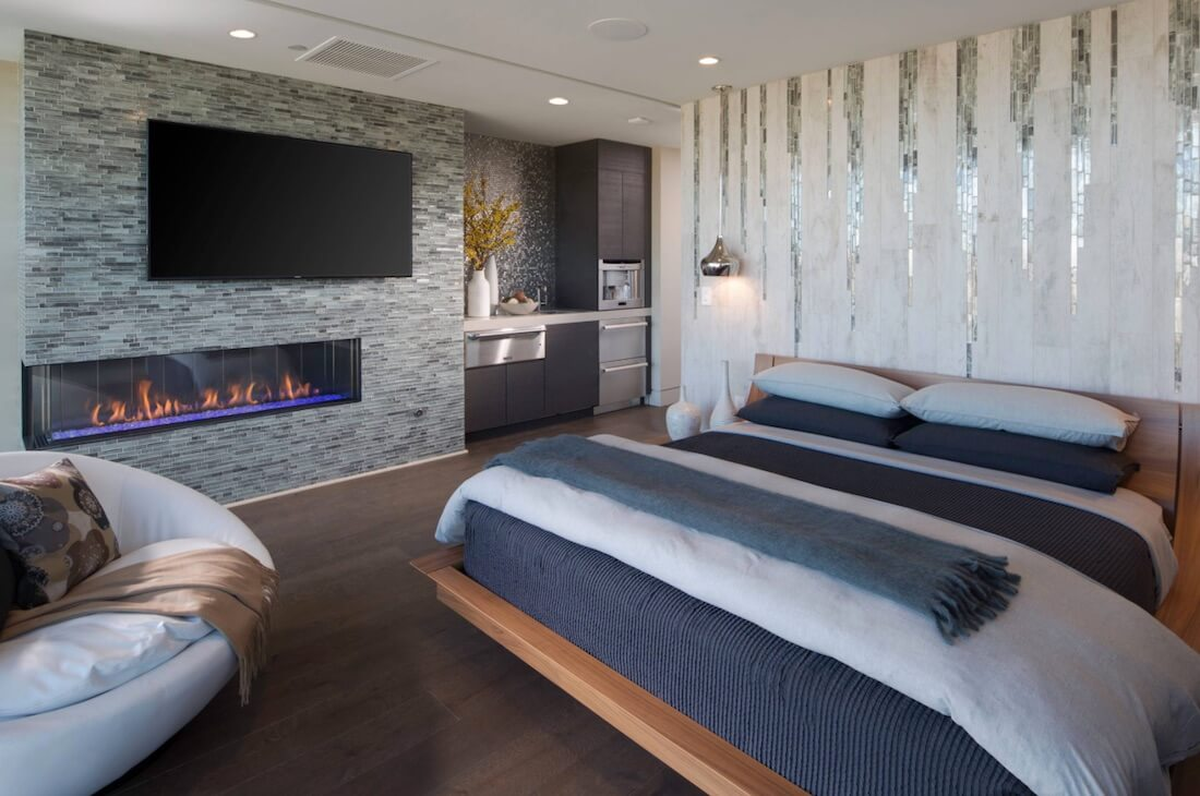5 ways to make a geometric accent wall. Black Bedroom Furniture Sets. Home Design Ideas