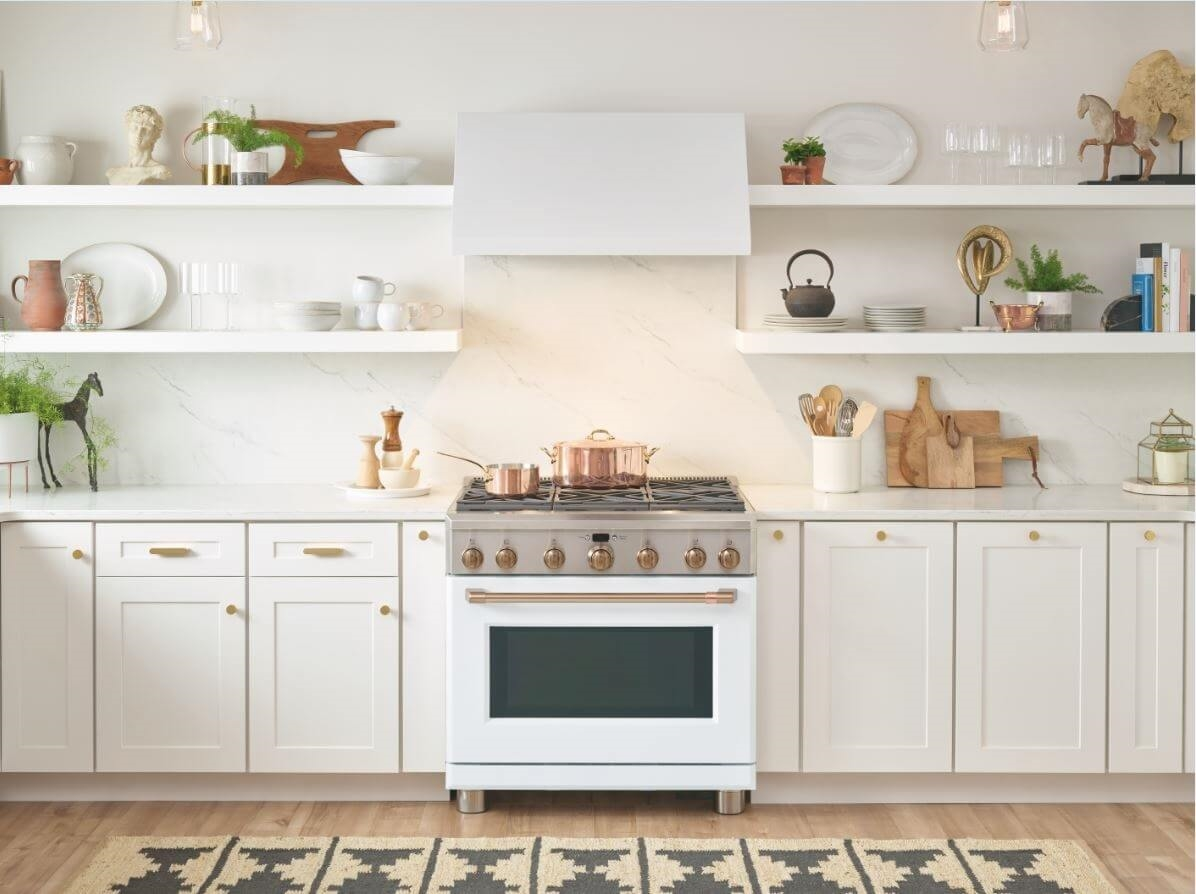 ge's matte collection stove