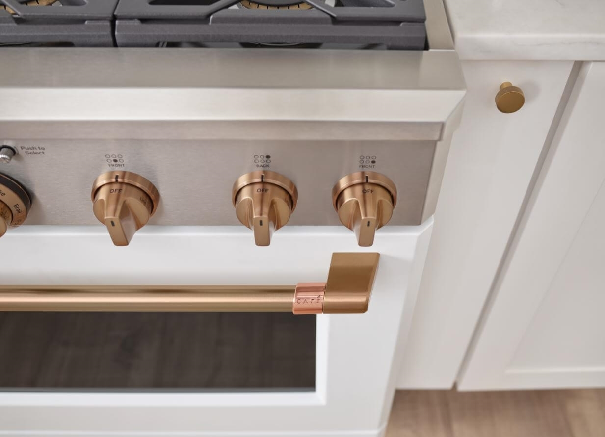 ge's matte collection knobs