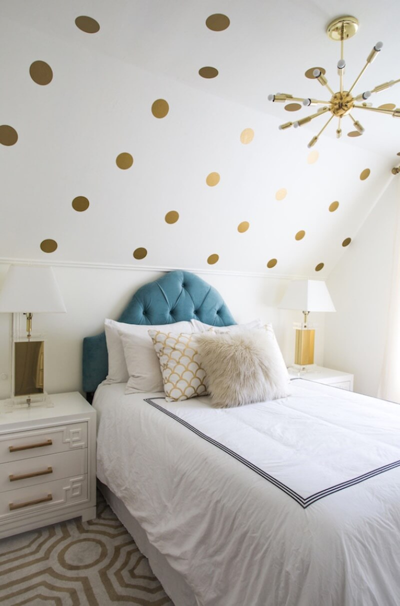 Polka-Dot Designs Metallic Shade