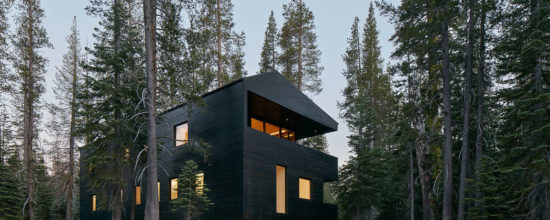 Chalet-Style Residence in California Withstands Harsh Weather