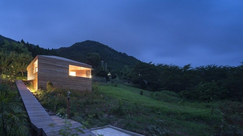 Hillside Home in Japan Reveals Playful Interiors