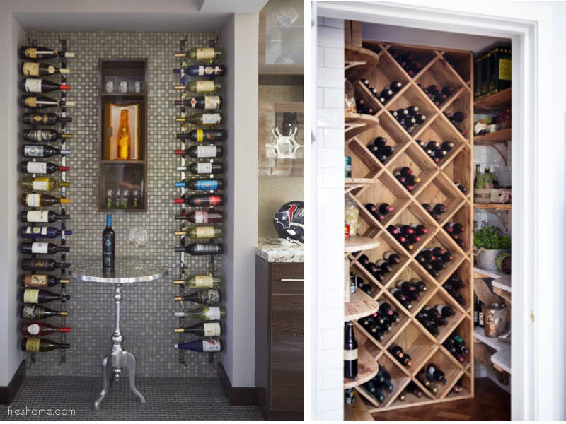 35 small wine cellars and wine room ideas you can recreate rh freshome com home wine cellars ideas