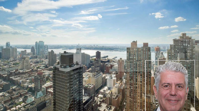 Anthony Bourdain's NYC Apartment Is for Rent and the Views Are Breathtaking