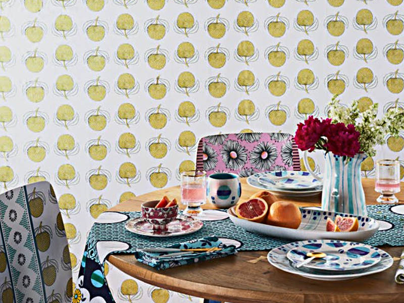 SUNOs Line Of Vibrantly Patterned Home Decor Works Best When Layered