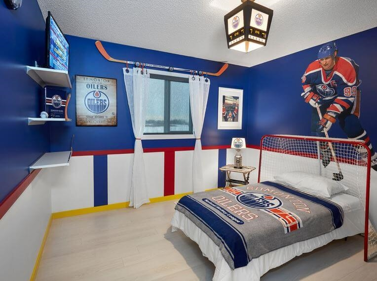 hockey headboard