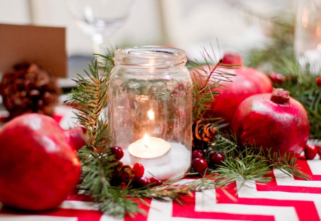 5 Ways To Decorate With Christmas Mason Jars Freshome Com