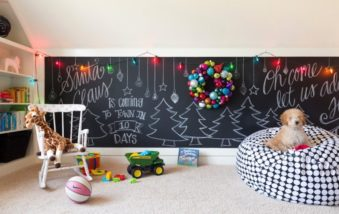 5 Ways to Make Clever Holiday Wall Decorations