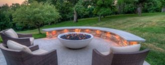 Fire Pits and Outdoor Fireplaces to Keep You Warm and Toasty in the Fall