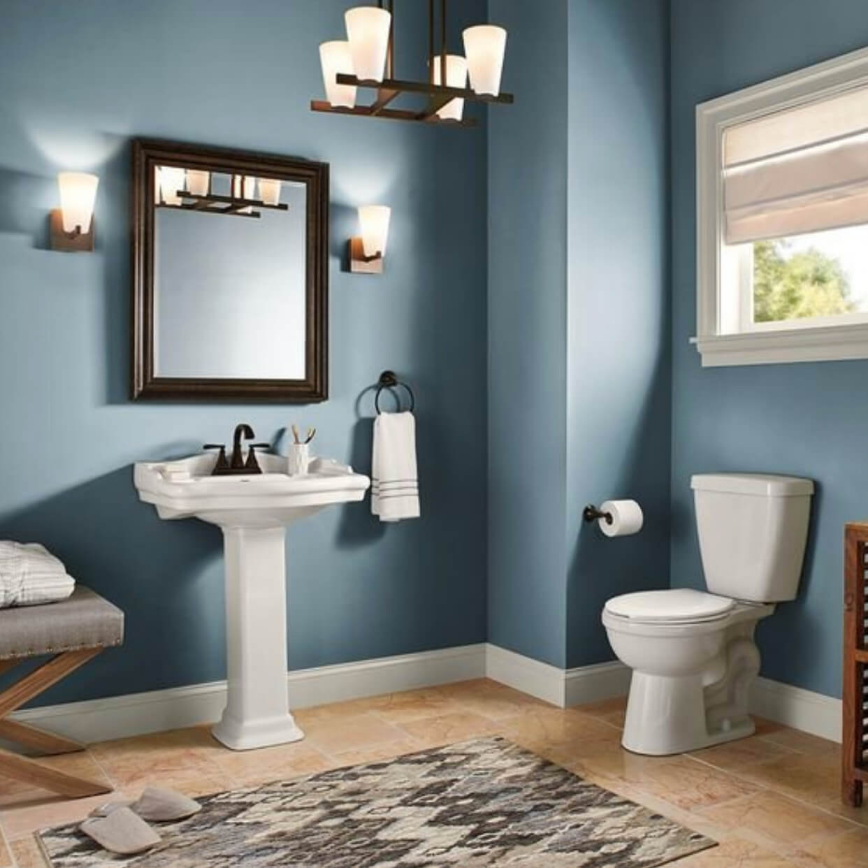 Best Bathroom Colors For 2019 Based On Popularity: Decorating Ideas For Behr Blueprint: 2019 Color Of The Year