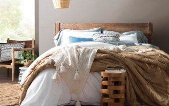 Get Ready To Nest In Bed Longer With The New Wayfair Eider & Ivory Bedding Line