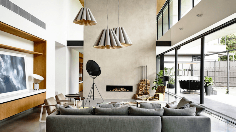 25 Gorgeous Minimalist Fireplaces to Keep You Cozy This Winter