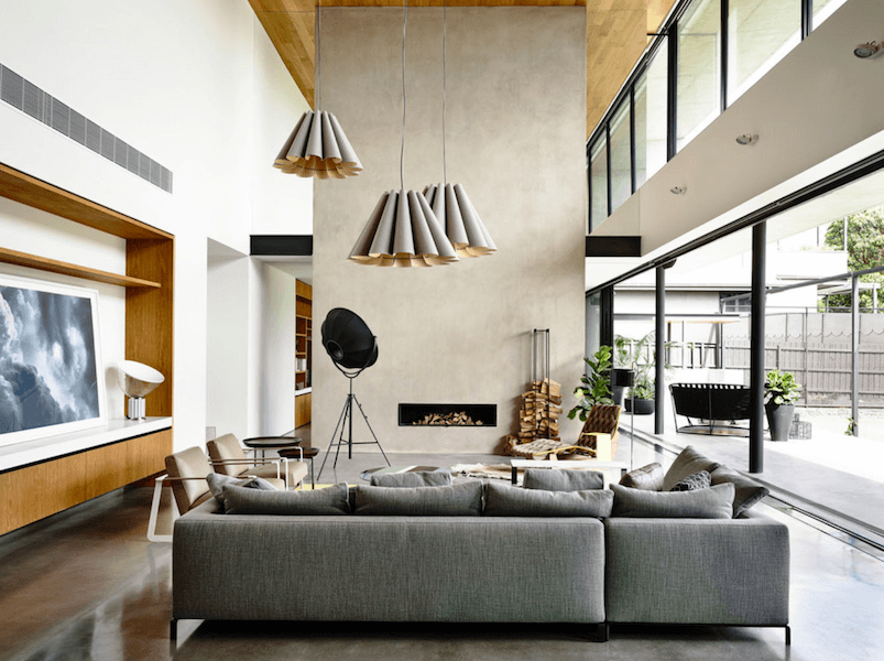 minimalist fireplaces 13