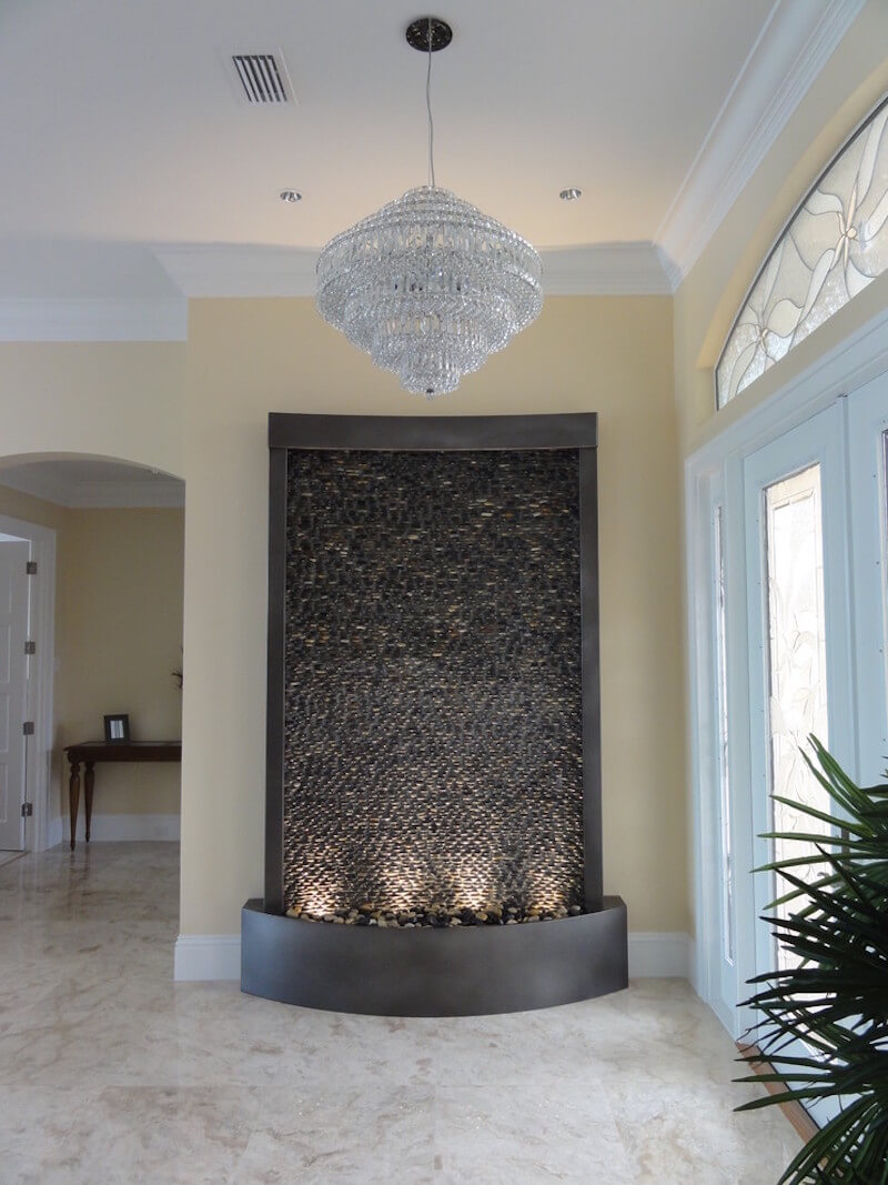 Calm Home Water Wall Feature