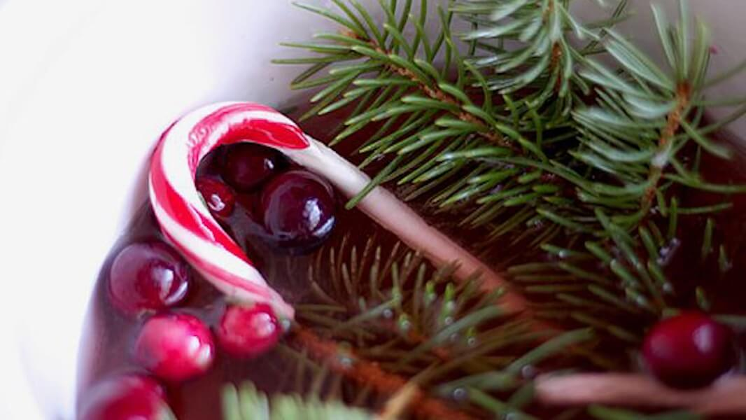 Holiday Simmer Pot Recipes Candy Cane and Pine