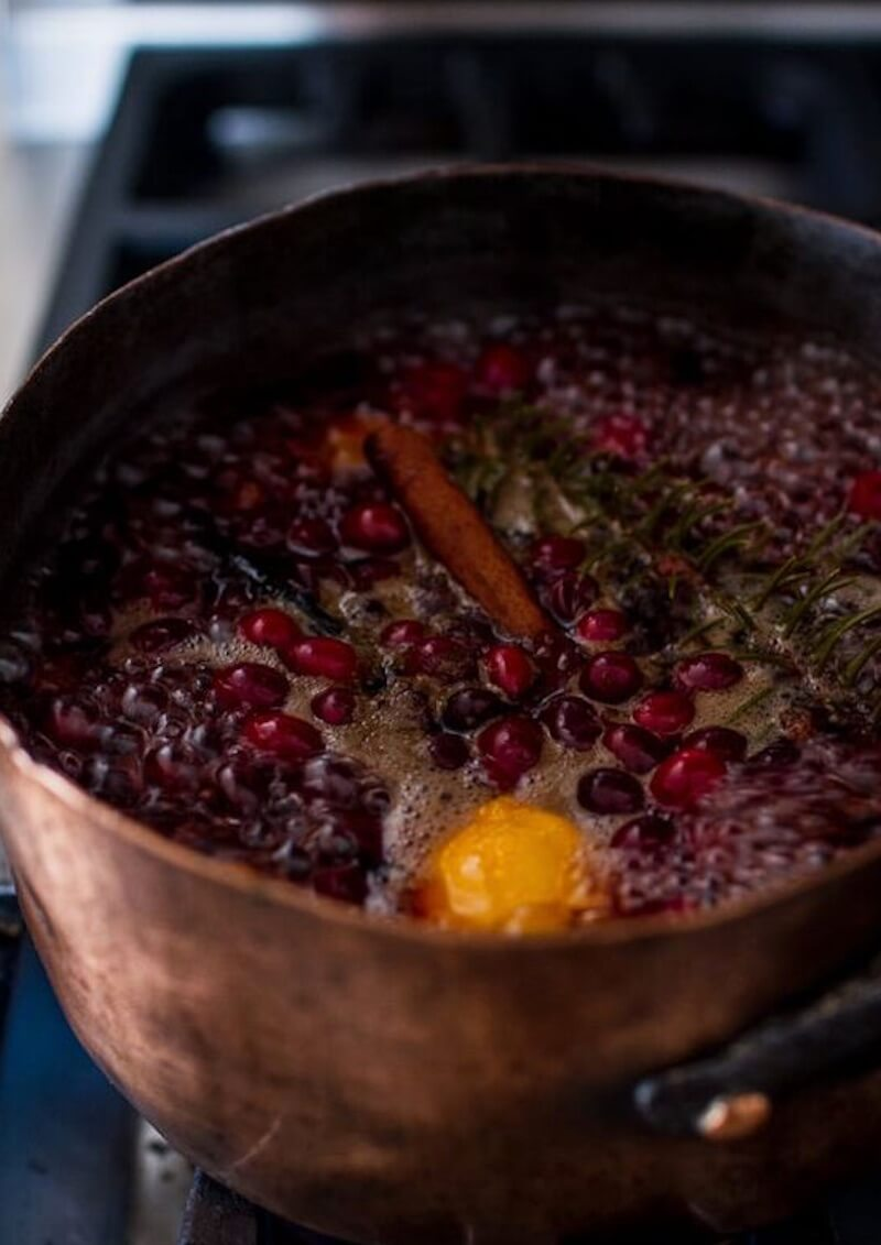 Holiday Simmer Pot Recipes Cranberry Simmering