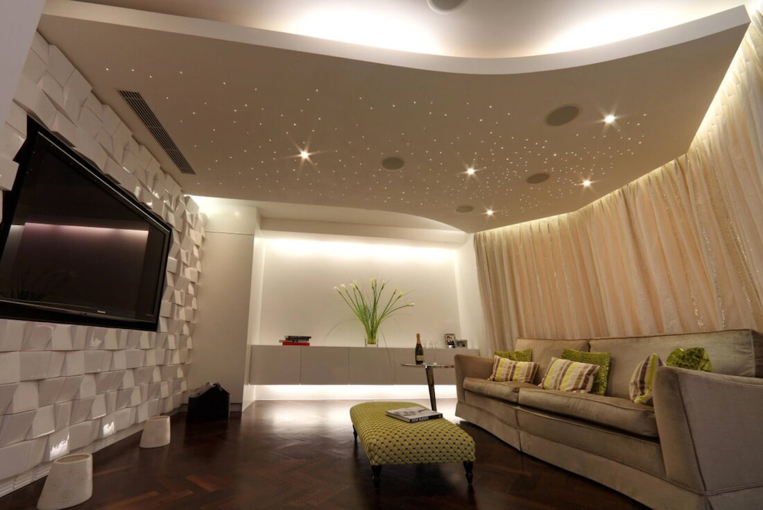 Interior Skyscapes Starry Living Room