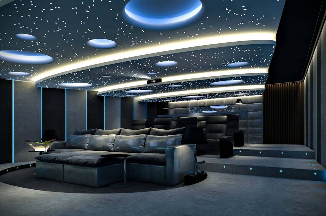 Interior Skyscapes Starry Lounge