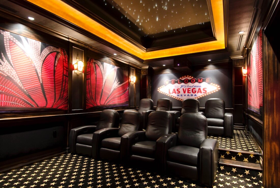 Interior Skyscapes Home Theater
