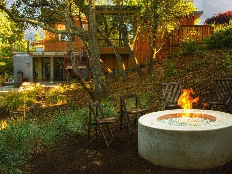 remote fire pits