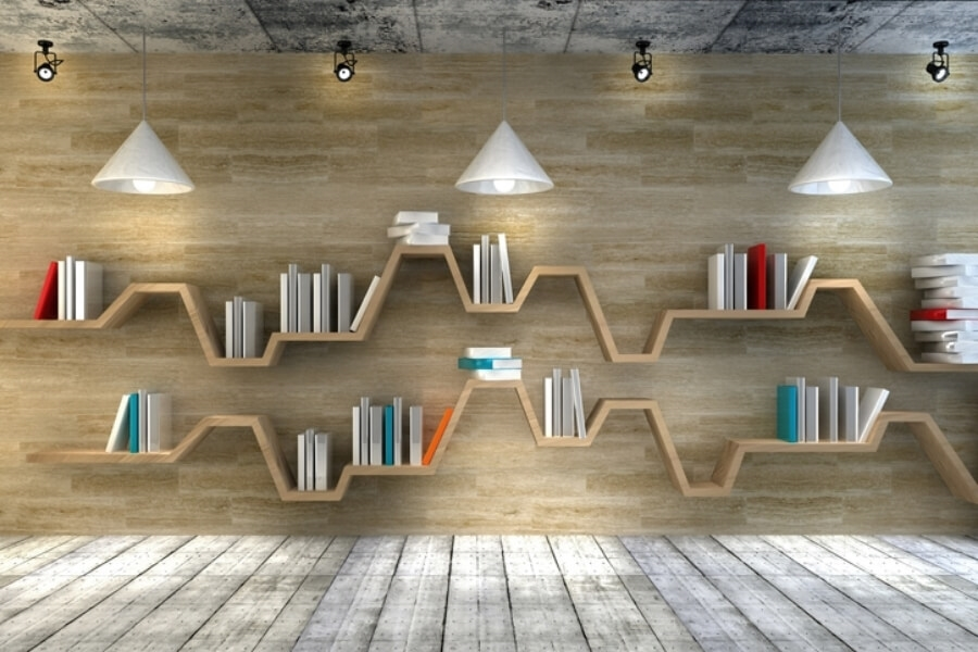 Fun shelves