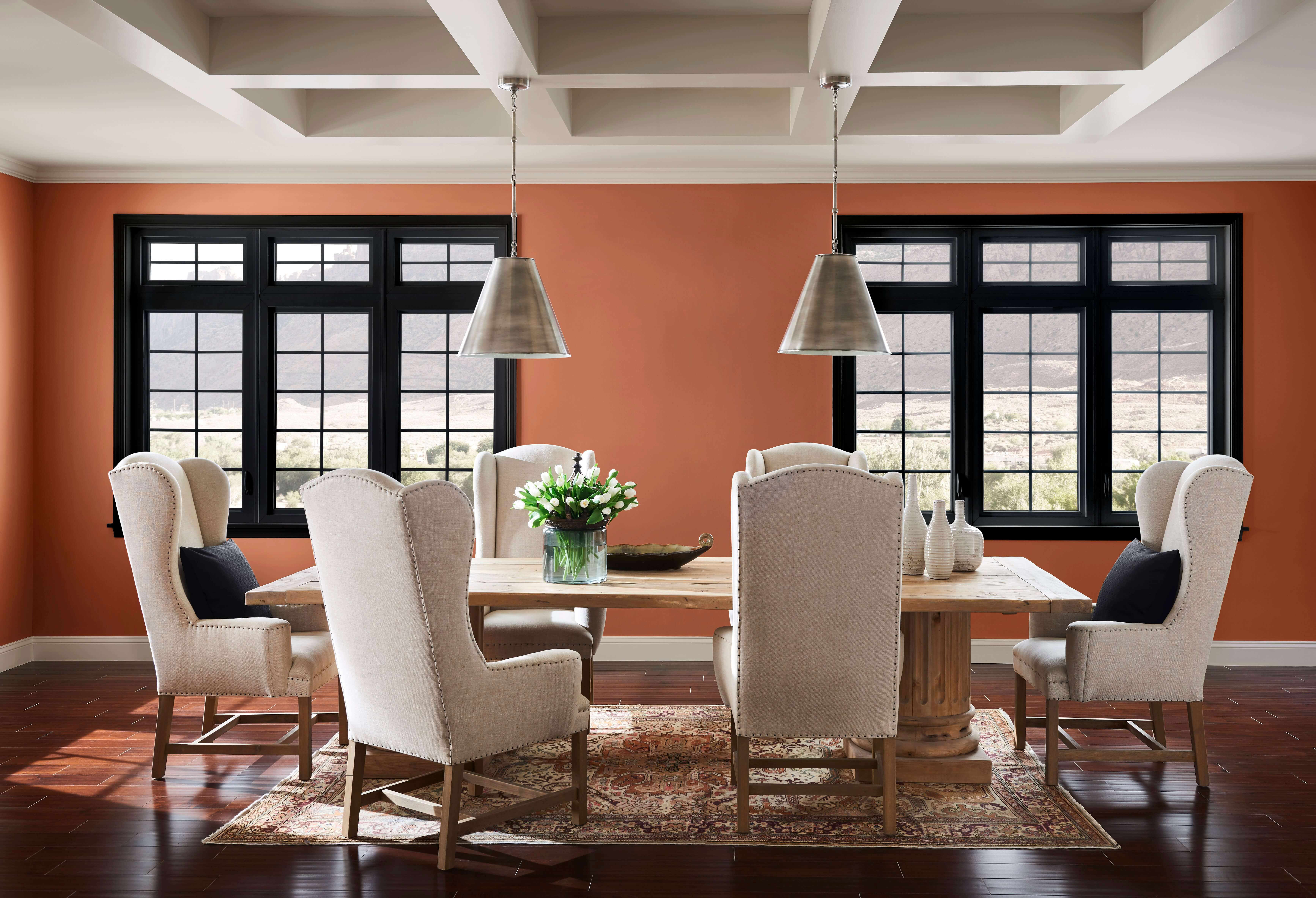 Cavern Clay Dining Room Sherwin Williams 2019 Color