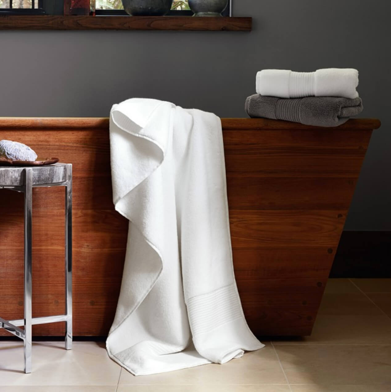 Spa Bathroom linens