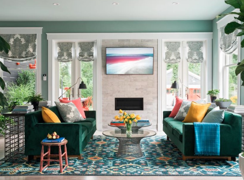 Before And After Photos Of The 2018 HGTV Urban Oasis Home
