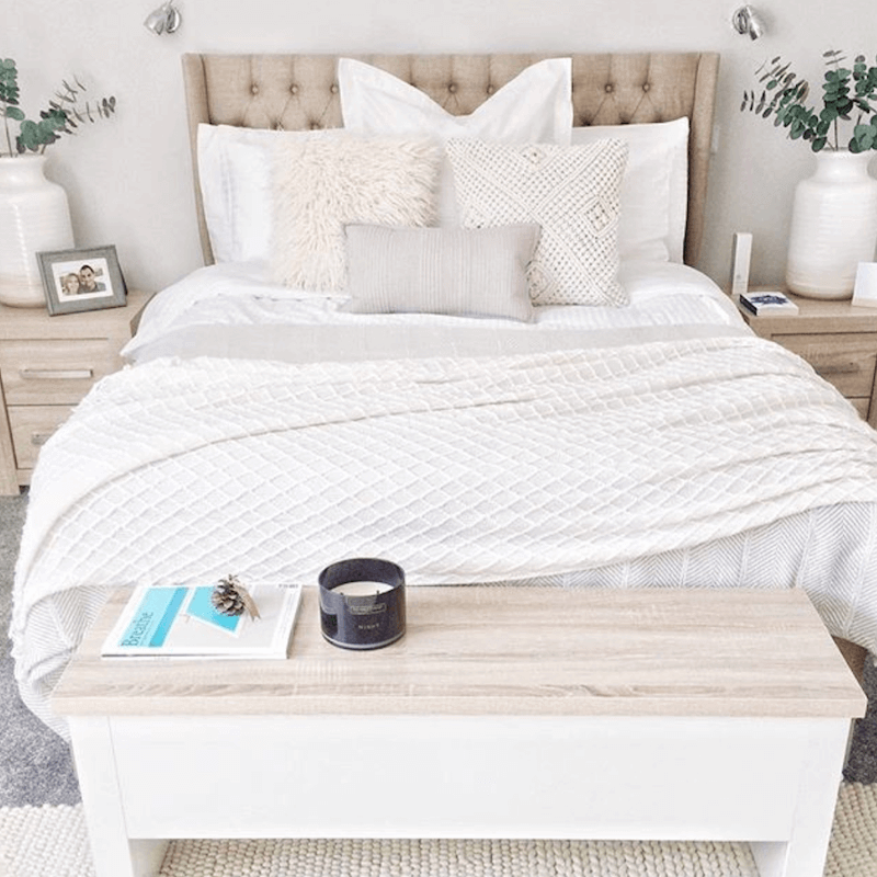 cozy bed - bedding