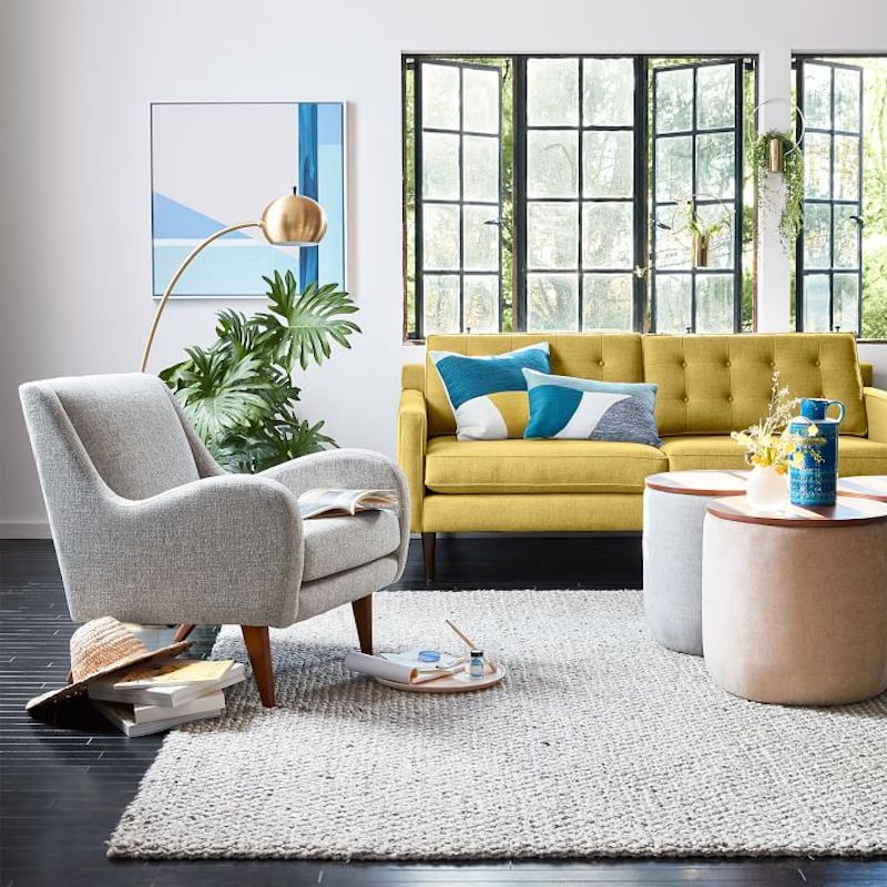 dream living room - accent sofa