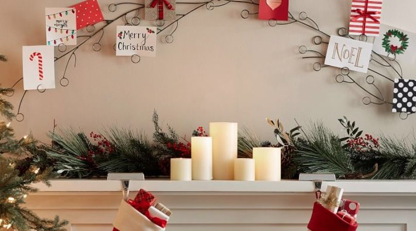 10 Christmas Card Display Ideas That Showcase Your Most Beautiful Cards
