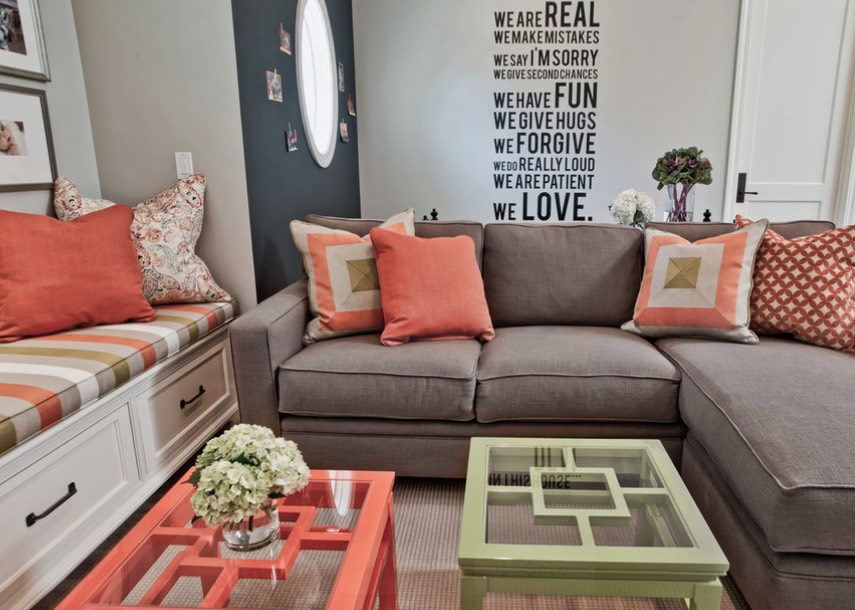 Decorating With Orange: 25 Ideas Using Apricot, The Hottest ...