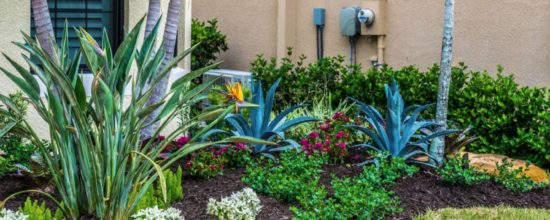 Landscaping Around Your Home's HVAC Unit