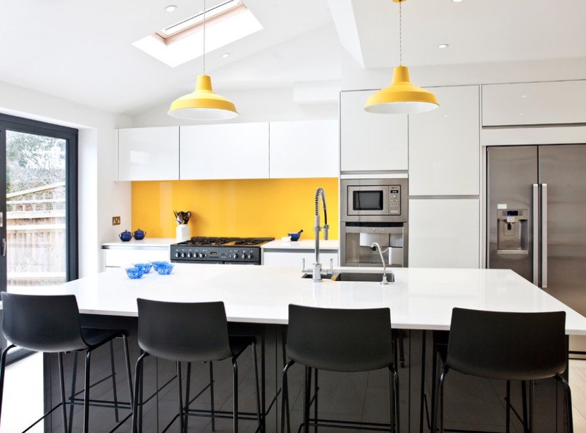 decorating with yellow accessories