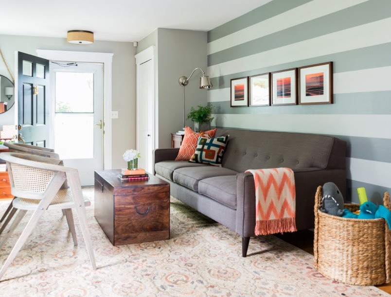 decorating with orange