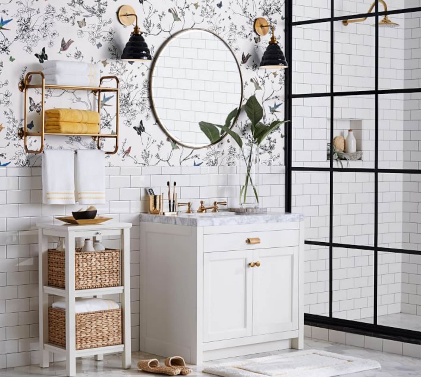 Feng Shui Bathroom Storage