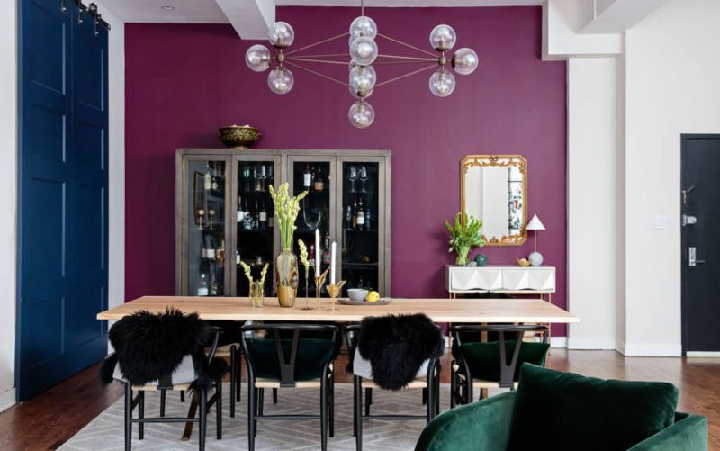 Not Your Shrinking Violet: Here Are 15 Ideas For Decorating With Purple For A Modern, Sexy Space