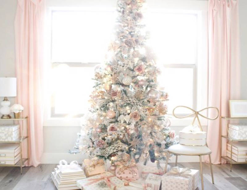 Millennial Pink Christmas Ideas And Decor For A Blush Worthy Holiday