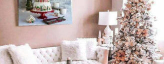Millennial Pink Christmas Ideas and Decor for a Blush-Worthy Holiday